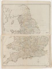 Map Of England 1800.Genre Early Maps Place Of Origin England Scanned Maps
