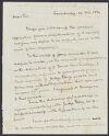 Dane, Nathan, 1752-1835. Papers, 1780-1835. Quincy, Josiah, 30 October 1832. 1-40, Harvard Law School Library.