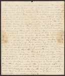 Letters from Delia Jarvis Tudor to her son, William Tudor, William Tudor personal archive