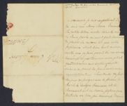 Letters from William Tudor to his sister, Emma Tudor Gardiner, William Tudor personal archive