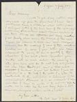 Letters from Henry James Tudor to his brother, William Tudor, William Tudor personal archive