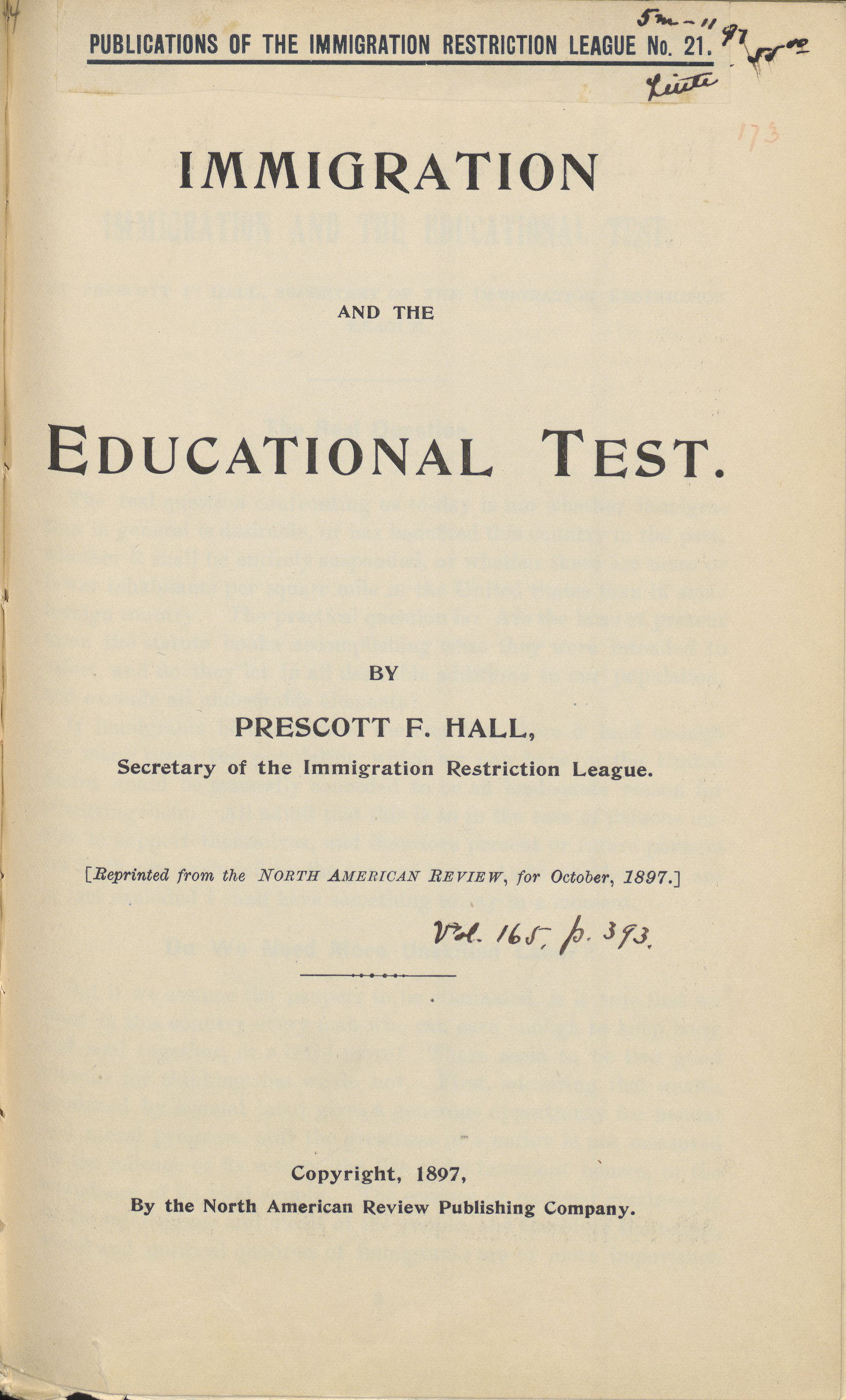 Immigration and the educationa...