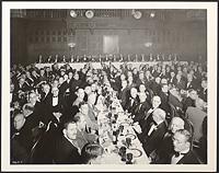 Dinner of Harvard Medical Alumni Association at tercentenary of Harvard College , Digital Object