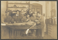 Dissecting table, class of 1905,  Digital Object