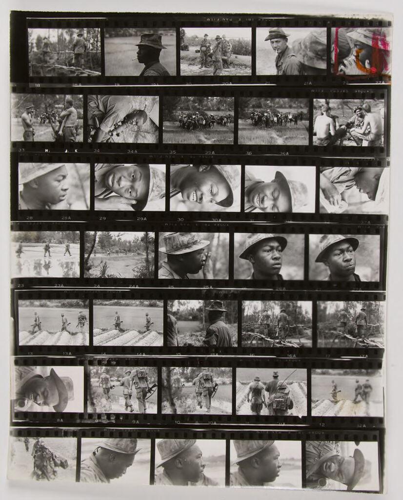 Untitled (Soldiers On Patrol, Vietnam)