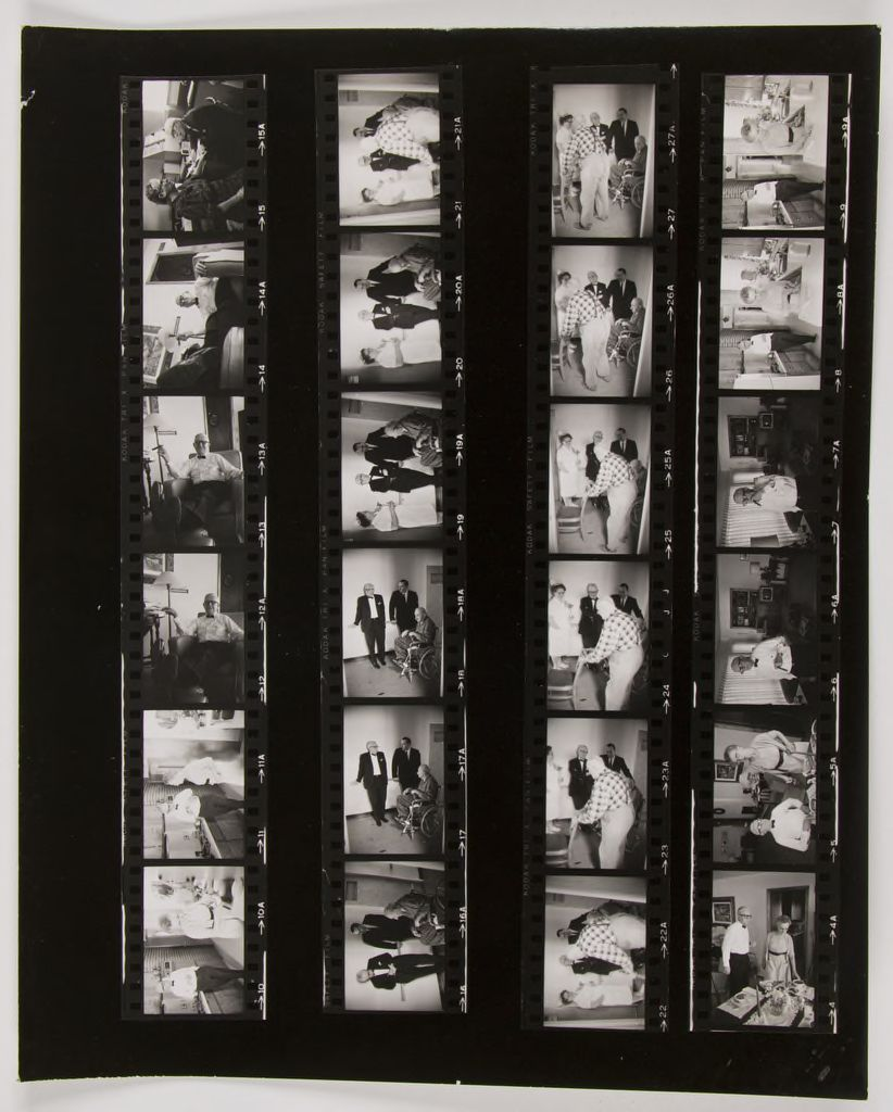Untitled (Dr. Herman M. Juergens: At Home; In Office With Nurse And Patients)
