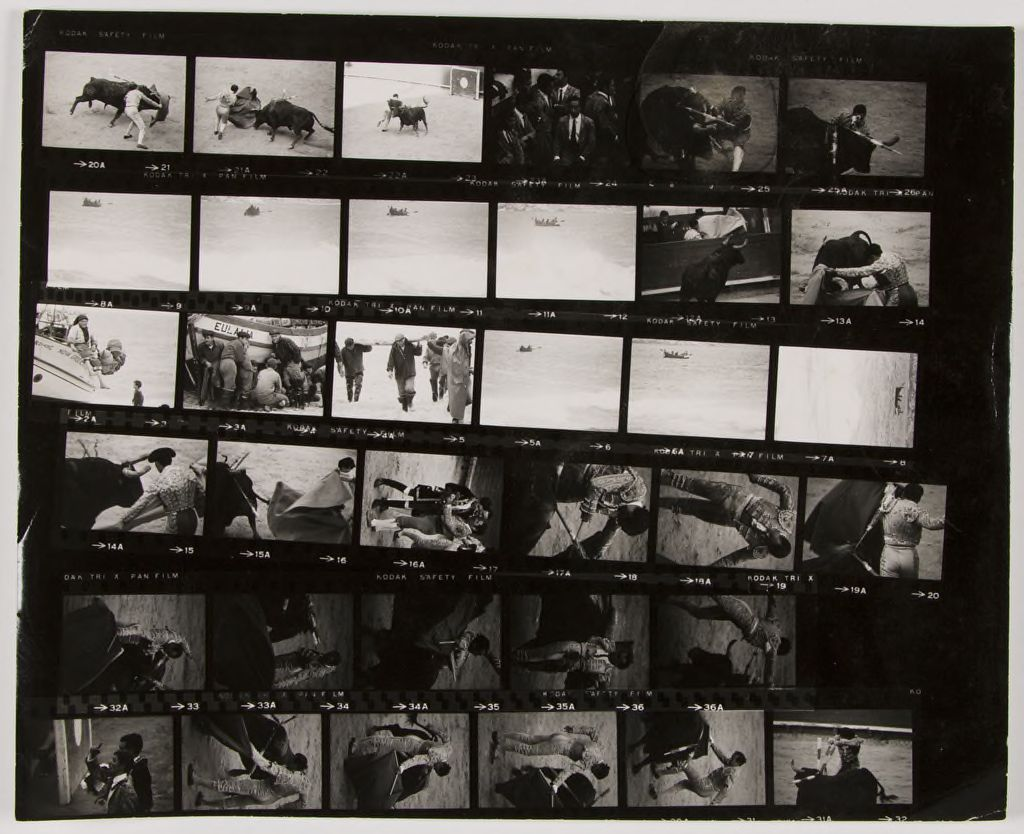 Untitled (Bullfight: Photographs Taken For