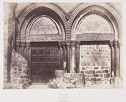 Church Of The Holy Sepulchre, Principal Entrance, Jerusalem