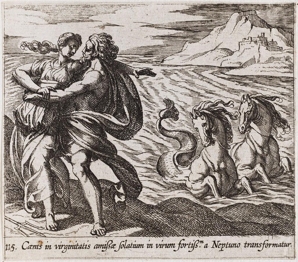 The Rape Of Caenis