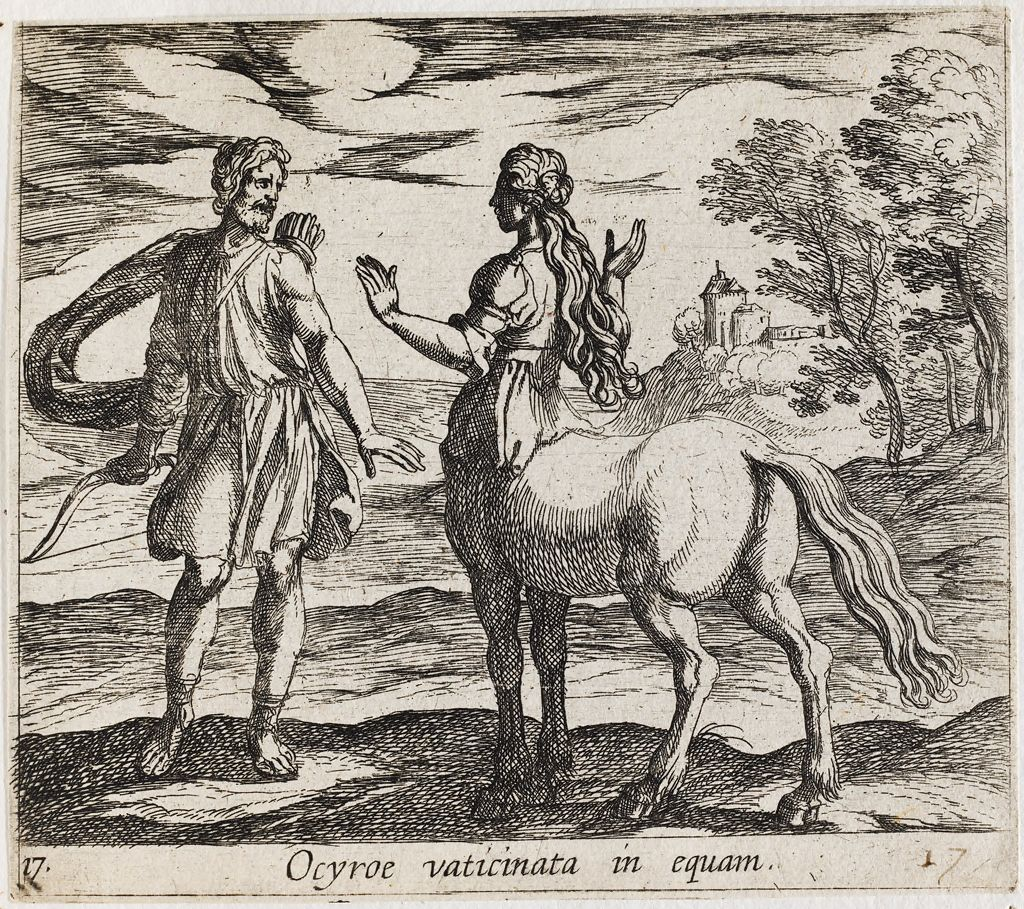 Ocyrhoe Changed Into A Horse