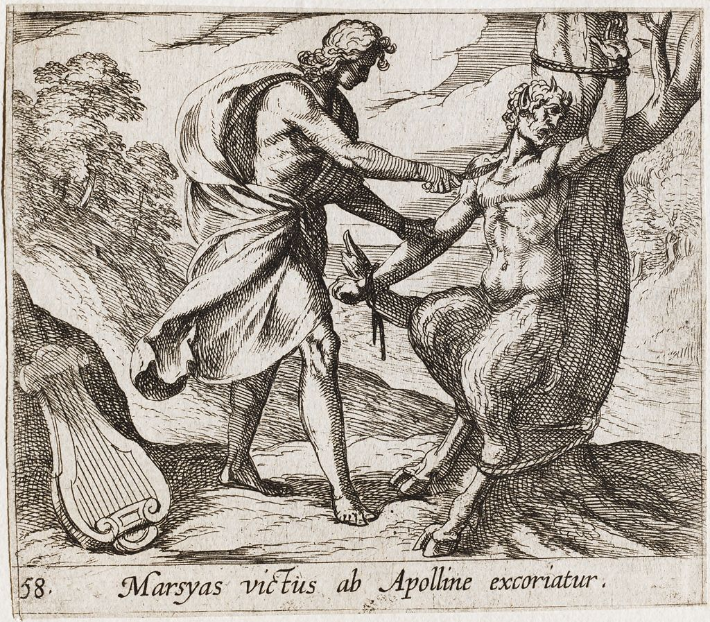 Apollo Killing Marsyas