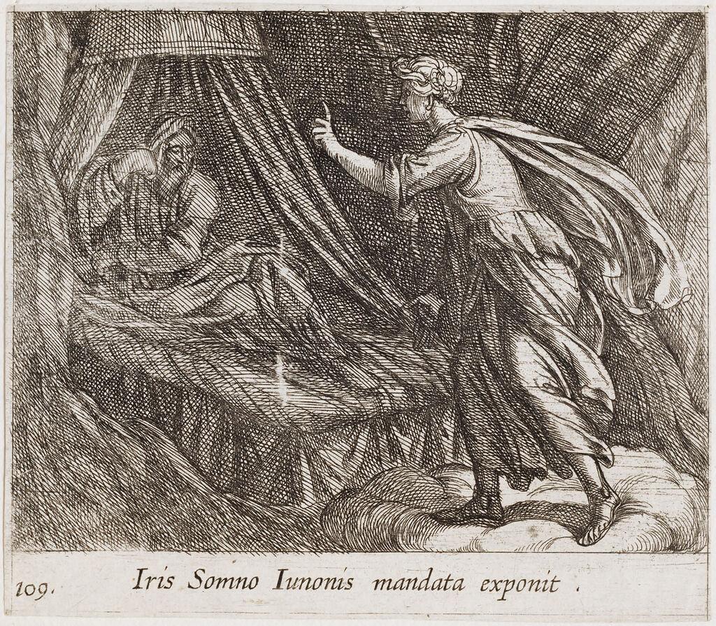 Iris Giving Sleep Juno's Command