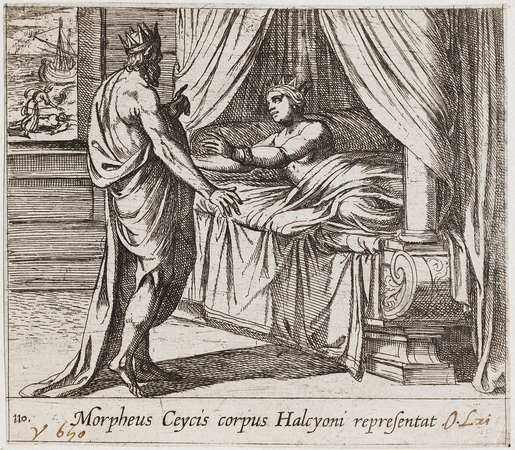 Morpheus, As Ceyx, Appearing To Alcyone