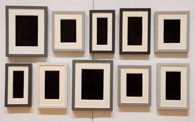 Collection Of Ten Plaster Surrogates