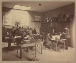 Psychological Laboratory in Dane Hall, photograph Digital Object