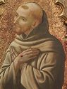 Saint Francis: Side Panel From A Triptych