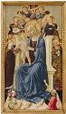The Madonna Enthroned, From A Triptych