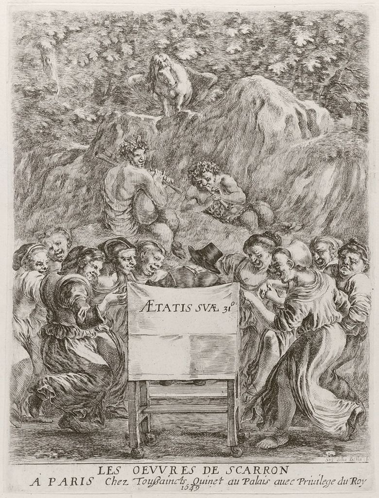 Frontispiece (Dancers, Satyrs And Pegasus)
