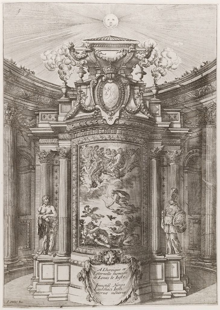 The Mausoleum Of Louis Xiii