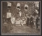 [Costumed participants in the Pageant of Hollis Hall, photograph Digital Object