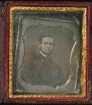 Copy daguerreotype of man
