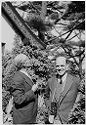 [Lyonel Feininger And Charles Ross At Mills College, Oakland, California]