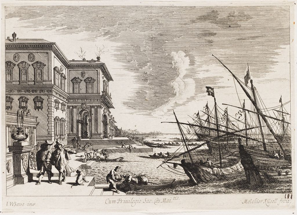 Palace Of Count Widman In Venice