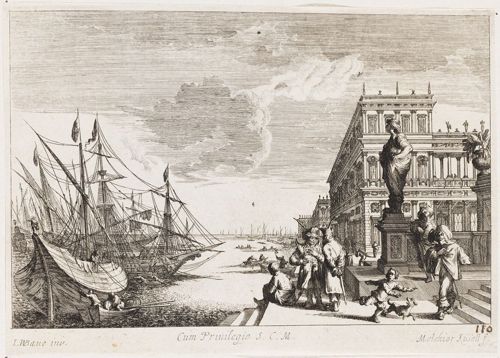 Palace Of The Ambassador Of France On The Canal Regio In Venice