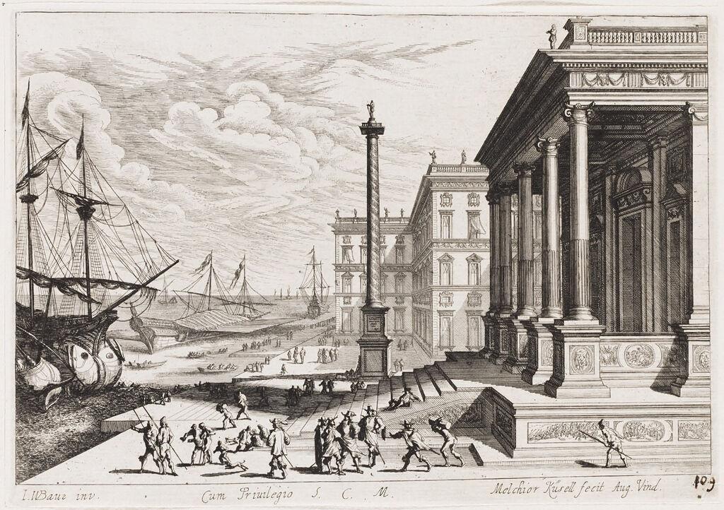 Nonce Palace At San Francesco Della Vigna In Venice