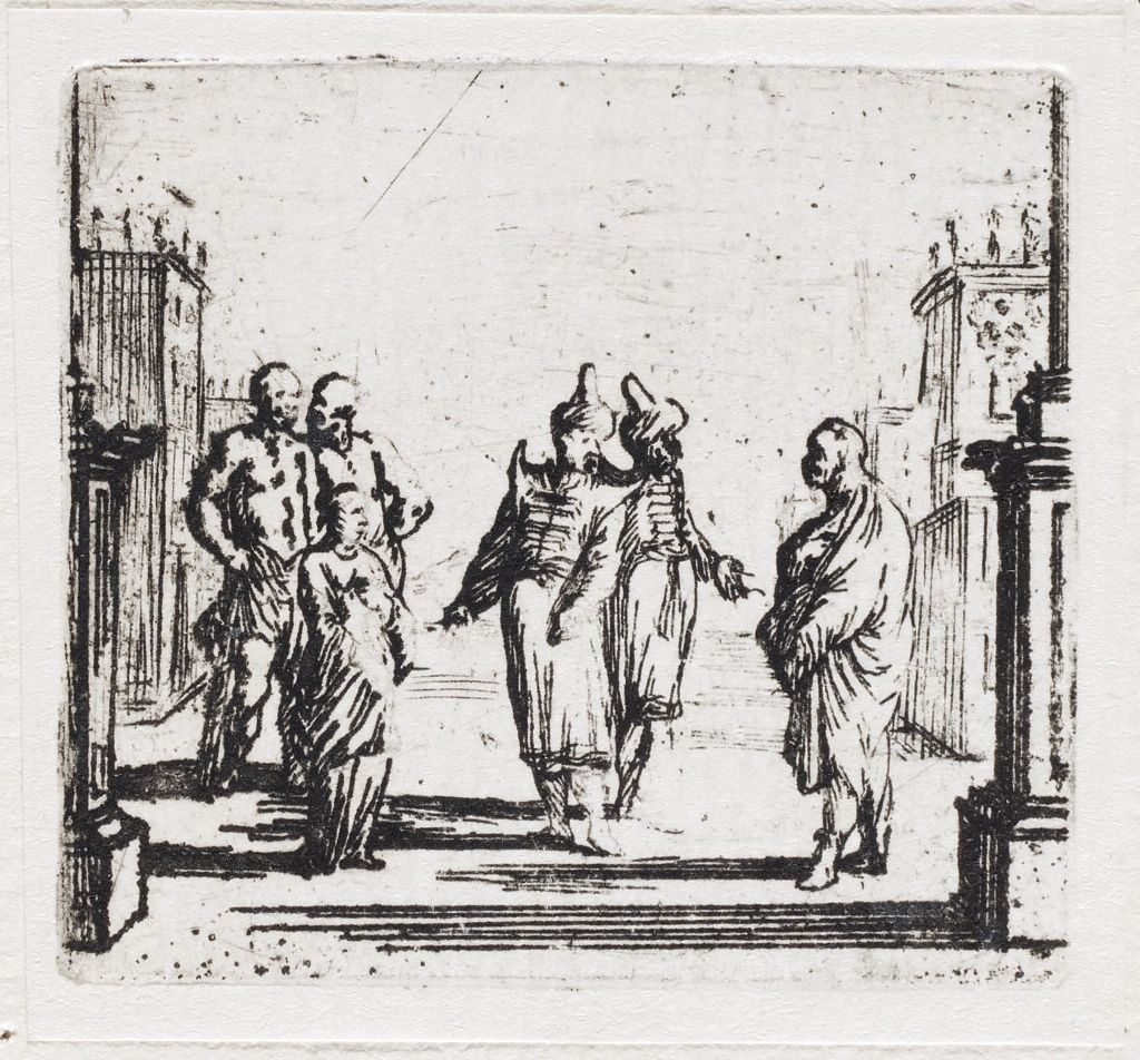 Scene 20: Two Turks Encounter The Young Woman And Three Men