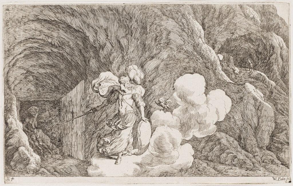 Minerva Commands Envy To Torment Aglauros