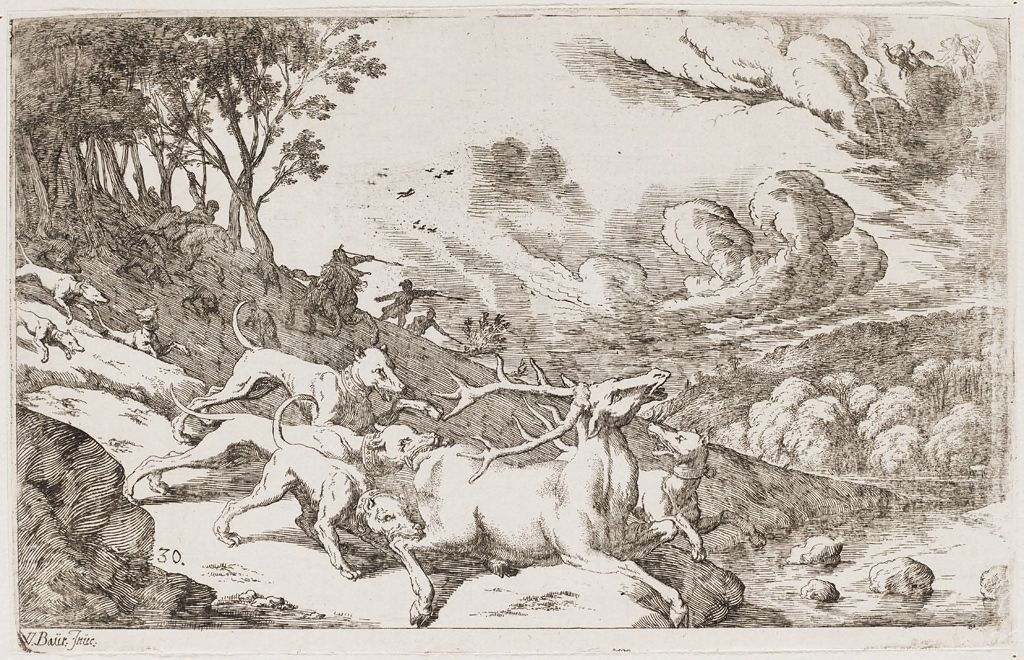 Actaeon, Transformed Into A Stag, Is Killed By His Hounds