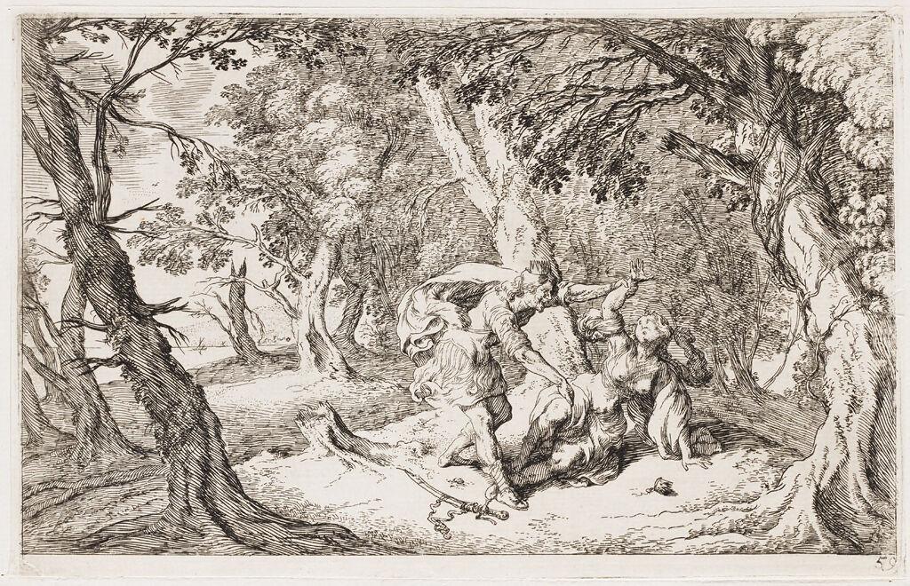 Tereus Abducts Philomela