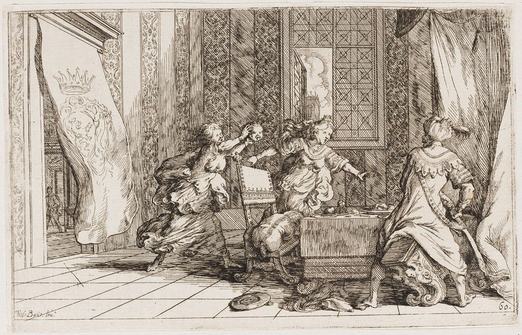 Procne Feeds Tereus Their Son Itys