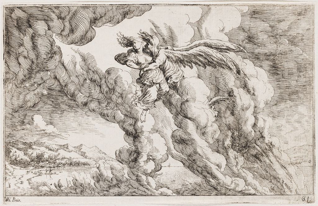 Boreas Abducts Orithyia