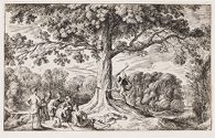 Erysichthon Chops Down an Oak Sacred to Ceres