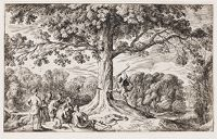 Erysichthon Chops Down An Oak Sacred To Ceres