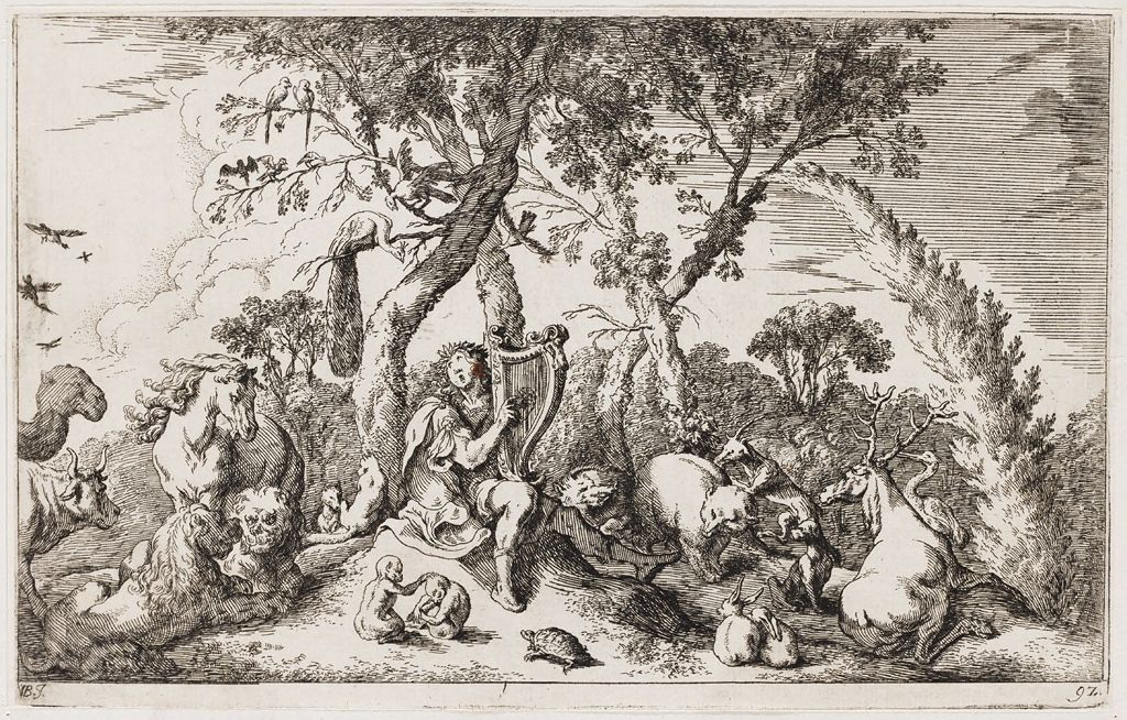 Orpheus Charms The Trees And Animals With His Music