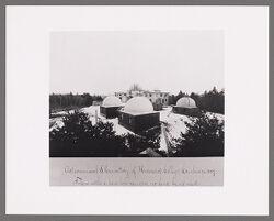Astronomical observatory of Harvard College, Cambridge, 1887