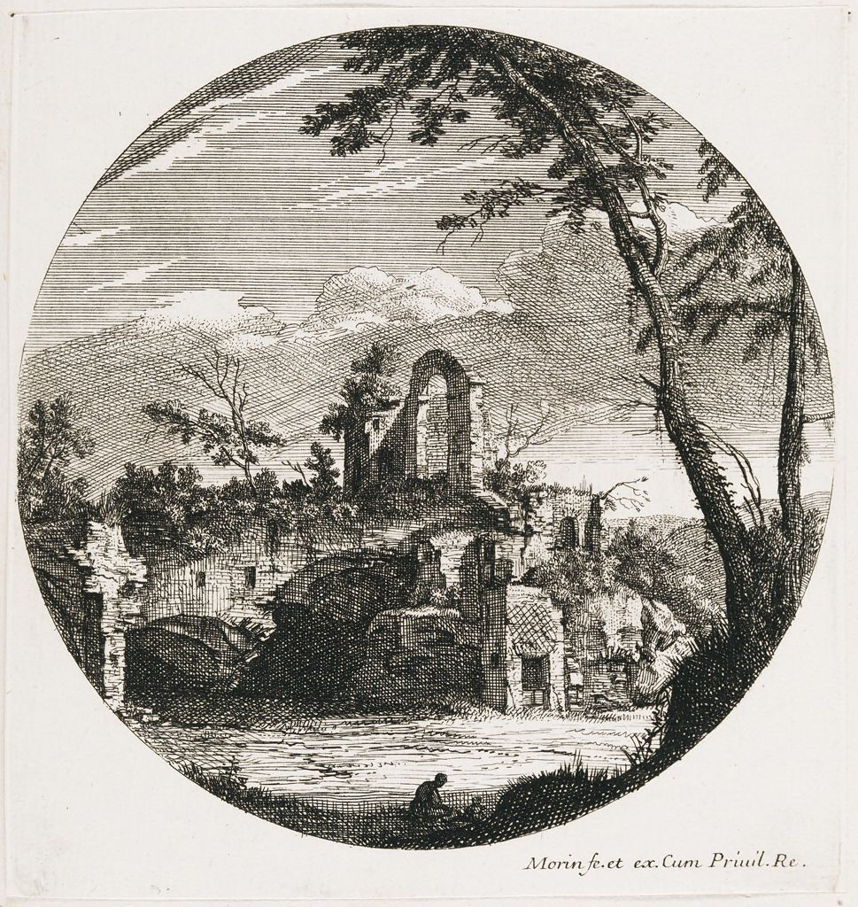 Landscape With An Arch And Ruin