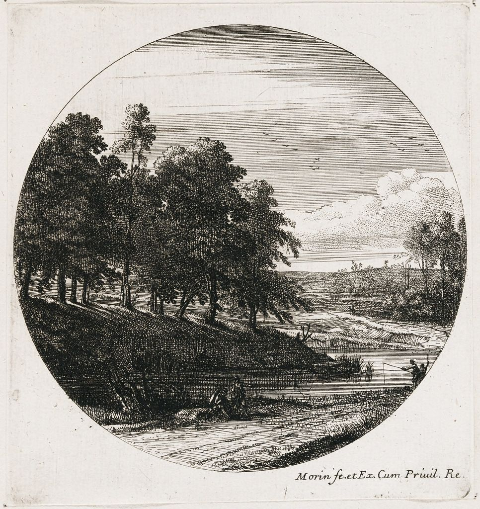 Landscape With A River And A Grove Of Trees