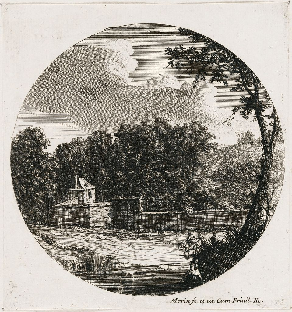 Landscape With A Walled Enclosure