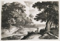 Landscape with Wagon and Travellers