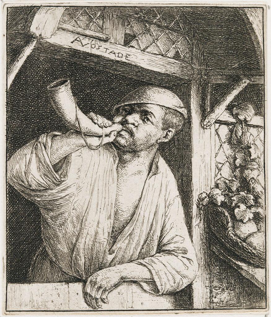 The Baker Sounding His Horn