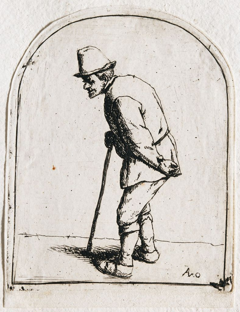 Man With A Crooked Back