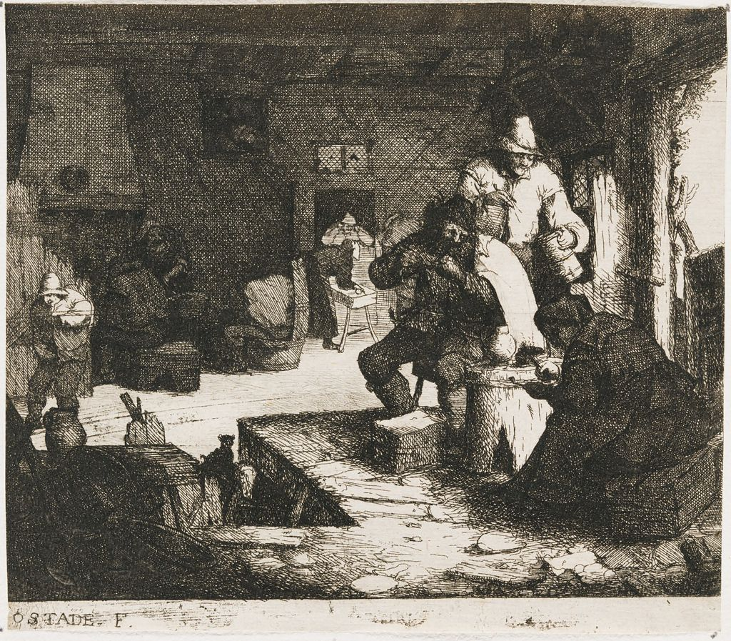 The Smokers In The Inn
