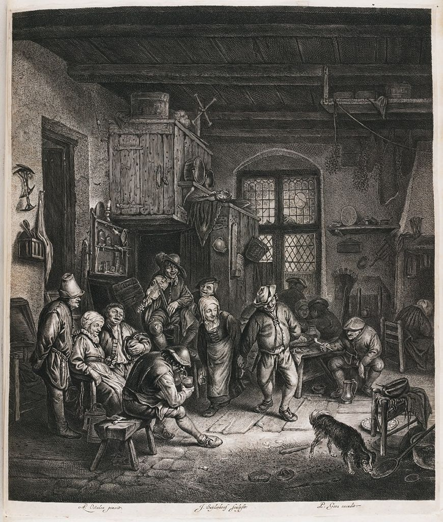 Interior With Dancing Couple