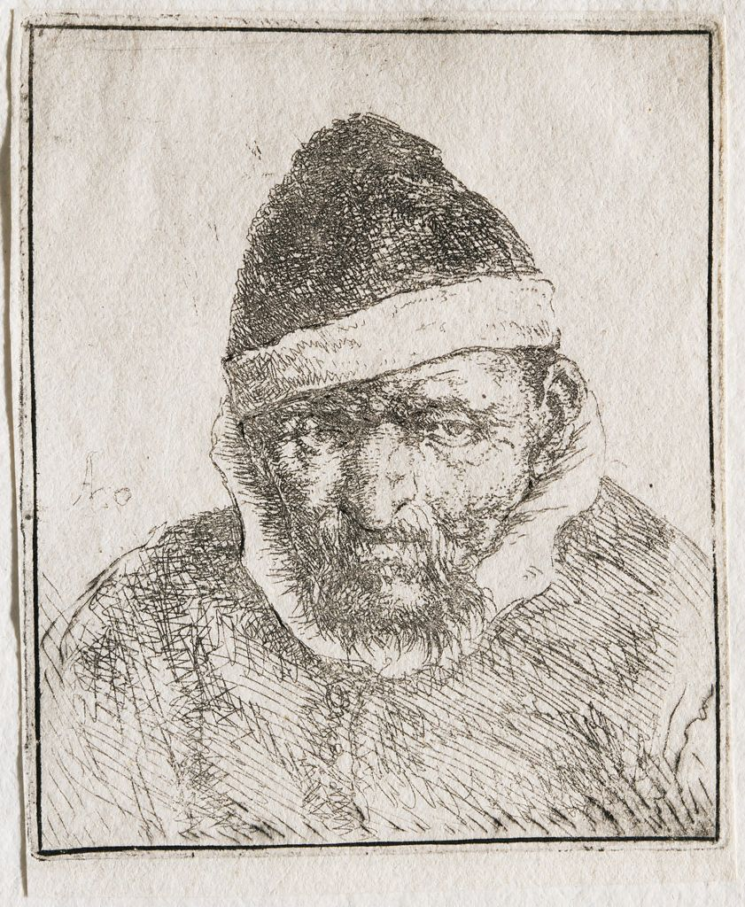 Man In A Pointed Fur Cap