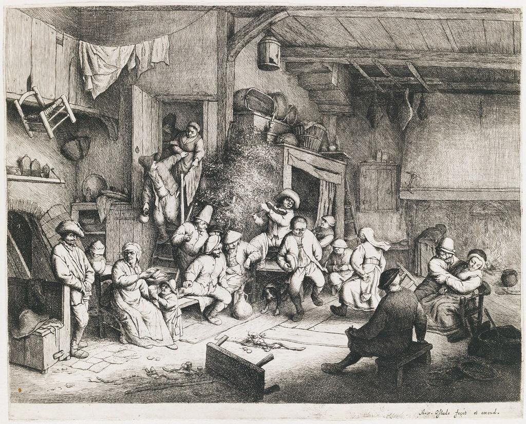 The Dance In The Inn