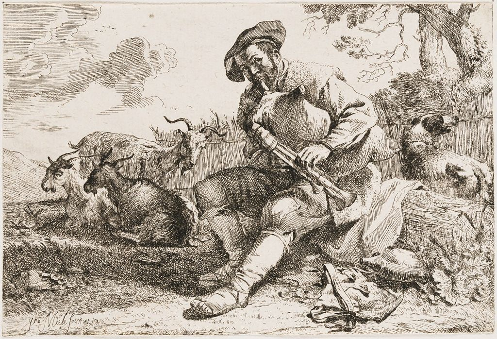 The Shepherd With The Bagpipes